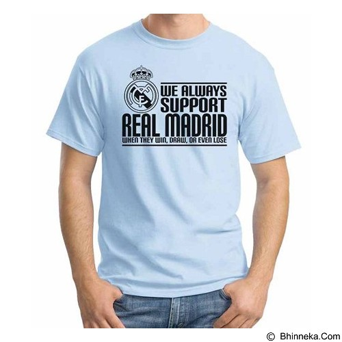 ORDINAL T-shirt Real Madrid Edition 03 Size XXL (Merchant) - Kaos Pria