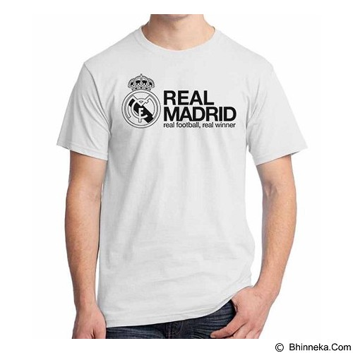 ORDINAL T-shirt Real Madrid Edition 06 Size XXL (Merchant) - Kaos Pria