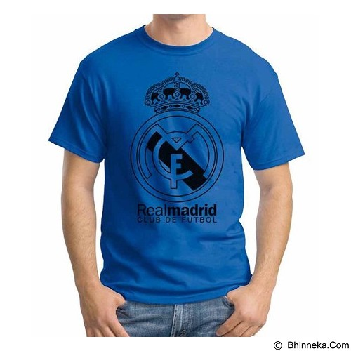 ORDINAL T-shirt Real Madrid Edition 07 Size L (Merchant) - Kaos Pria