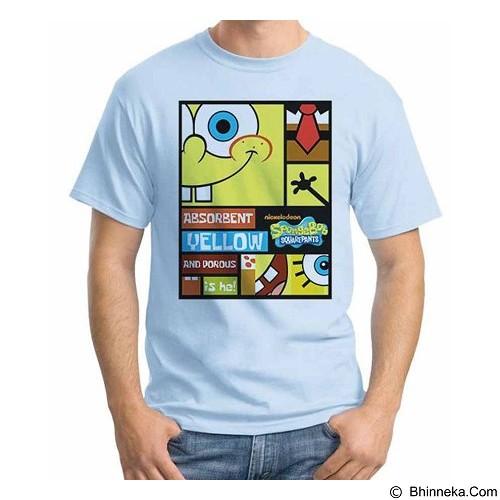 ORDINAL T-shirt Sponge Bob Sponge Bob 04 Size XXL (Merchant) - Kaos Pria