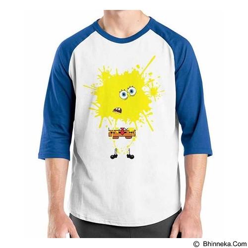 ORDINAL Raglan Sponge Bob Sponge Bob 01 Size M (Merchant) - Kaos Pria