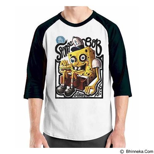 ORDINAL Raglan Sponge Bob Sponge Bob 03 Size M (Merchant) - Kaos Pria