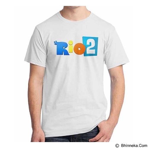 ORDINAL T-shirt Rio Logo 01 Size L (Merchant) - Kaos Pria