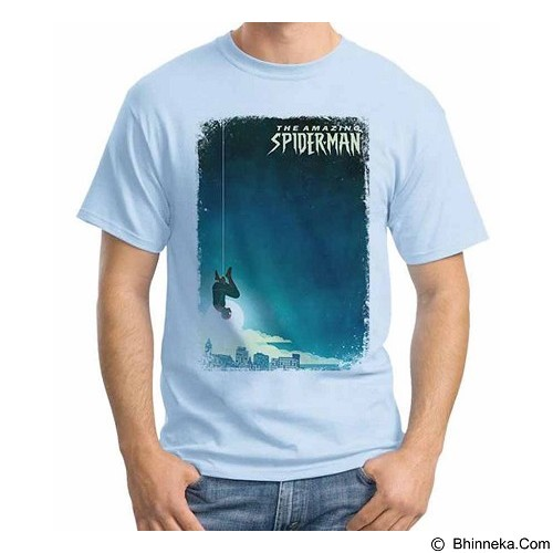 ORDINAL T-Shirt Amazing Spiderman Poster 01 Size L (Merchant) - Kaos Pria