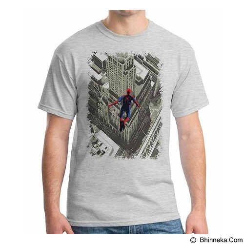 ORDINAL T-Shirt Amazing Spiderman Poster 02 Size ML (Merchant) - Kaos Pria