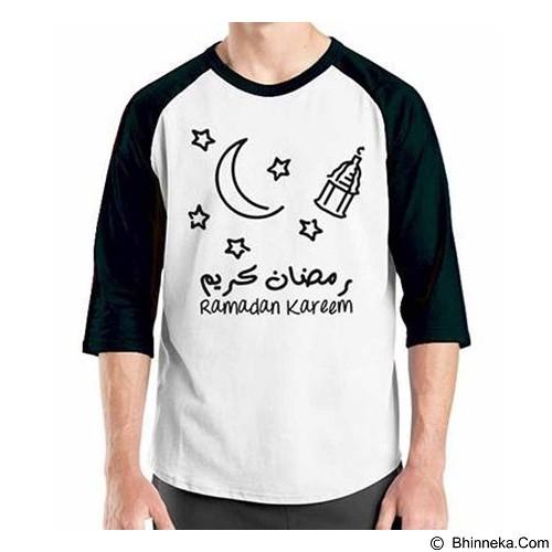 ORDINAL Raglan Ramadan Kareem 02 Size XL (Merchant) - Kaos Pria