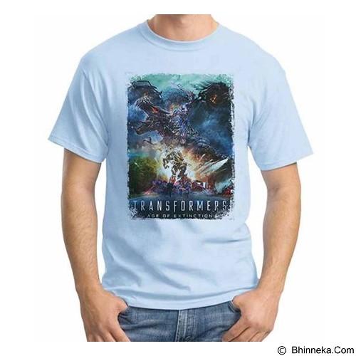 ORDINAL T-Shirt Transformer Poster AOE 04 Size L (Merchant) - Kaos Pria