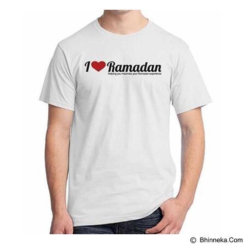ORDINAL T-shirt I Love Ramadan Size ML (Merchant) - Kaos Pria