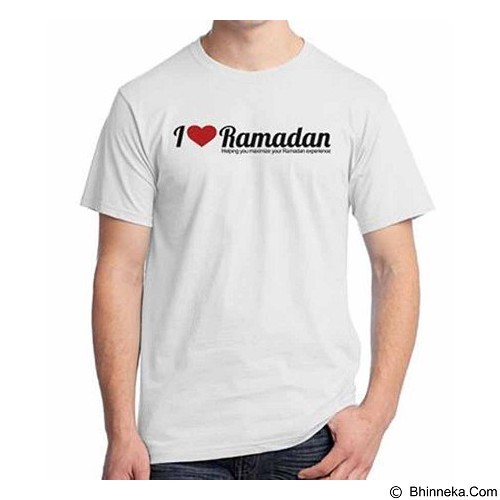 ORDINAL T-shirt I Love Ramadan Size XL (Merchant) - Kaos Pria