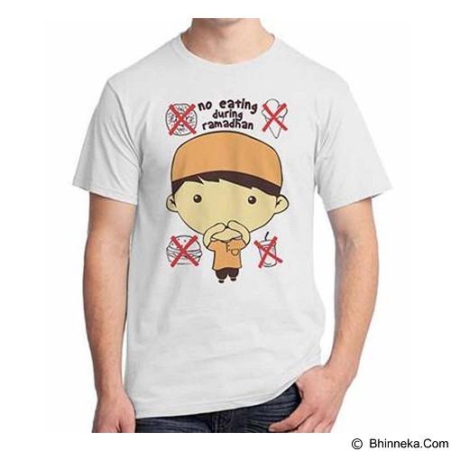 ORDINAL T-shirt No Eat During Ramadan Size ML (Merchant) - Kaos Pria