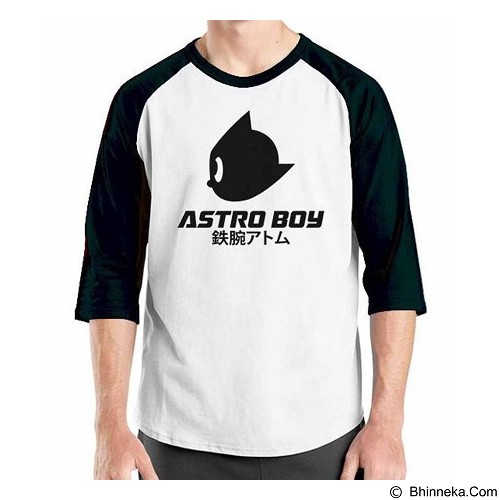 ORDINAL Raglan Astro Boy 1 Size ML (Merchant) - Kaos Pria