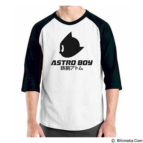 ORDINAL Raglan Astro Boy 1 Size ML (Merchant) - Kaos Pria