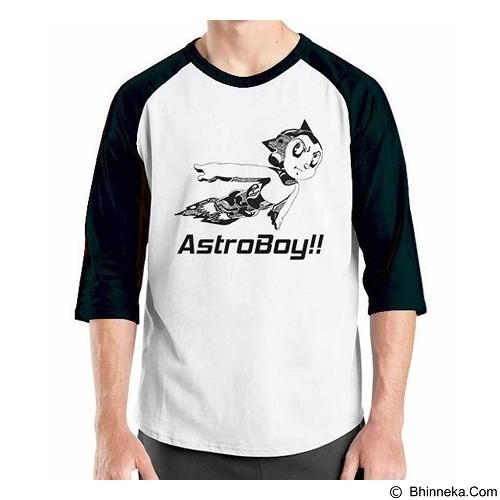 ORDINAL Raglan Astro Boy 8 Size XL (Merchant) - Kaos Pria