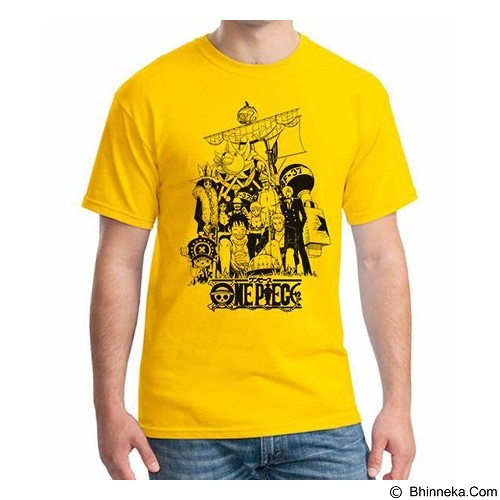 ORDINAL T-shirt One Piece NW 02  Size M (Merchant) - Kaos Pria