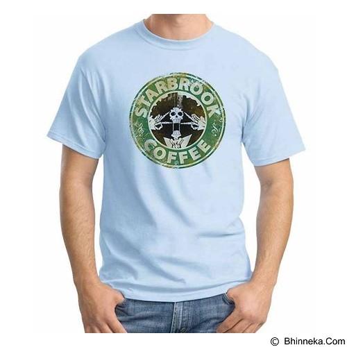 ORDINAL T-shirt One Piece Star Brook Size ML (Merchant) - Kaos Pria