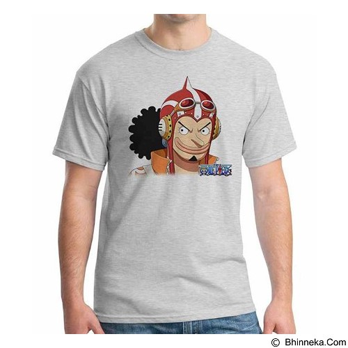 ORDINAL T-shirt One Piece Ussop NW Size M (Merchant) - Kaos Pria