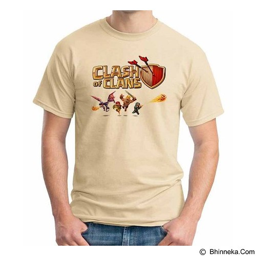 ORDINAL T-shirt Clash of Clans 03 Size ML (Merchant) - Kaos Pria