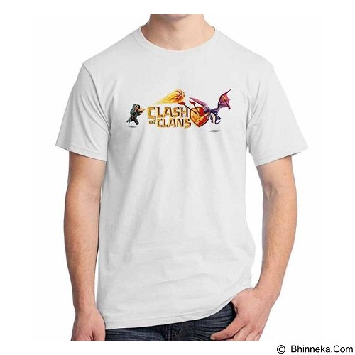 ORDINAL T-shirt Clash of Clans 07 Size XXL (Merchant) - Kaos Pria
