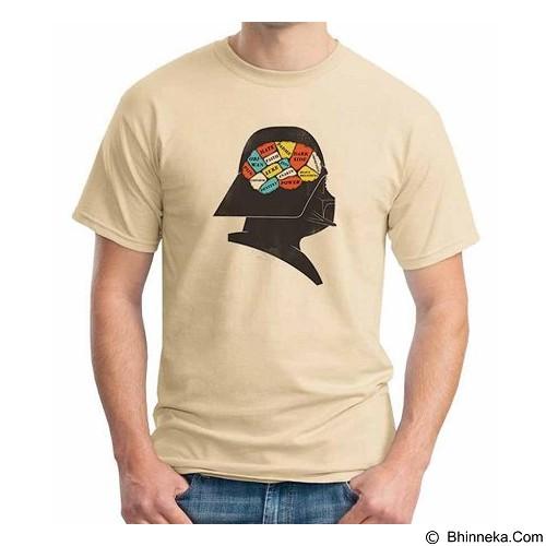 ORDINAL T-shirt Darth Vader Darth Brain Size XL (Merchant) - Kaos Pria