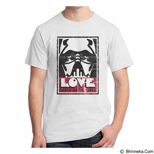 ORDINAL T-shirt Darth Vader Darth Poster Size XXL (Merchant) - Kaos Pria