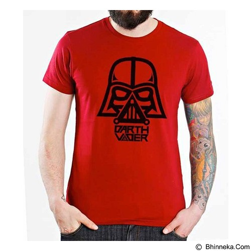 ORDINAL T-shirt Darth Vader 01 Size ML (Merchant) - Kaos Pria
