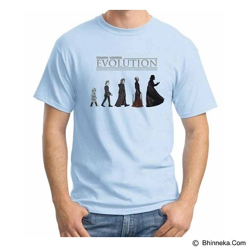 ORDINAL T-shirt Darth Vader Evolution Vader Size XL (Merchant) - Kaos Pria