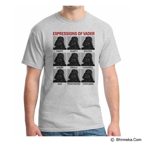 ORDINAL T-shirt Darth Vader Expression of Vader Size L (Merchant) - Kaos Pria