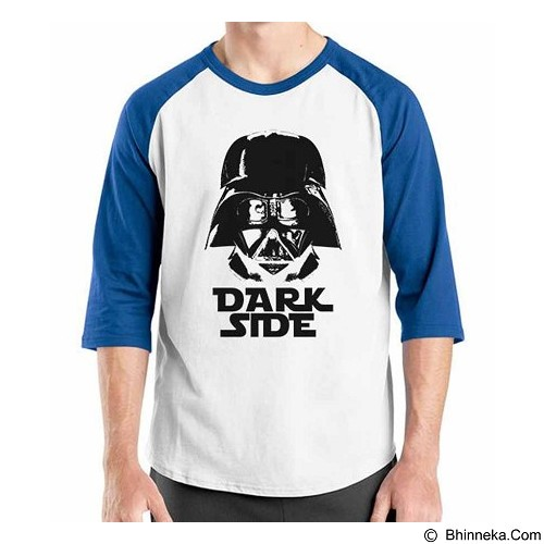 ORDINAL Raglan Darth Vader Dark Side Size XL (Merchant) - Kaos Pria