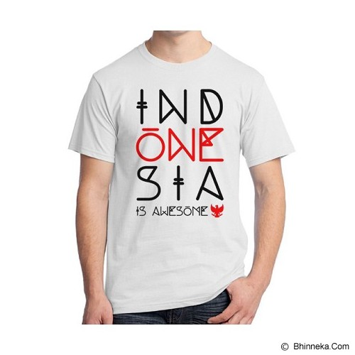 ORDINAL Alpha One Indonesia Size ML [01] - Kaos Pria