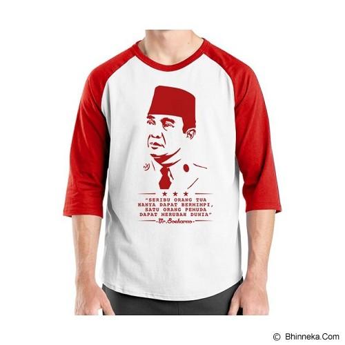 ORDINAL Alpha One Indonesia Size ML [RGL04] - Kaos Pria