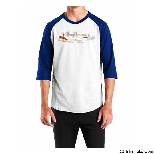 ORDINAL Raglan Christmas 11 Size XL (Merchant) - Kaos Pria