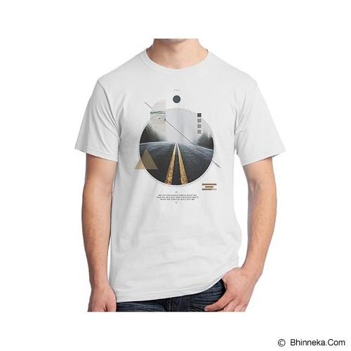 ORDINAL Alpha Inspiration Size L [QT15] - White - Kaos Pria