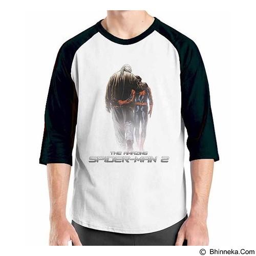 ORDINAL Raglan Amazing Spiderman 03 Size S (Merchant) - Kaos Pria