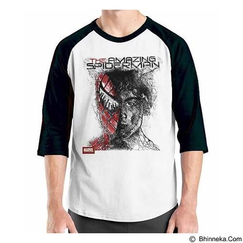 ORDINAL Raglan Amazing Spiderman 06 Size XXL (Merchant) - Kaos Pria