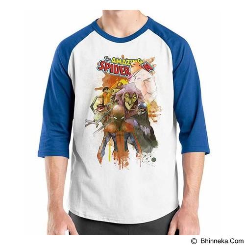 ORDINAL Raglan Amazing Spiderman 09 Size XXL (Merchant) - Kaos Pria