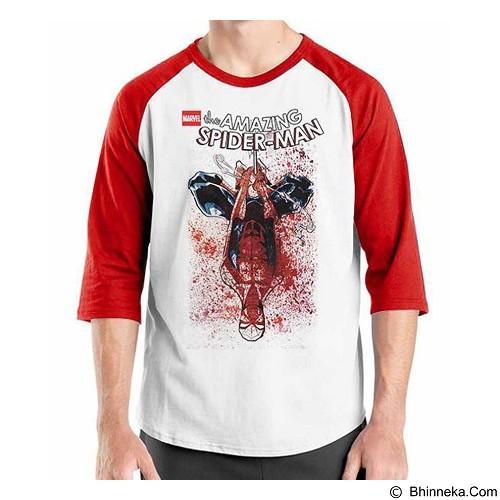ORDINAL Raglan Amazing Spiderman 11 Size ML (Merchant) - Kaos Pria