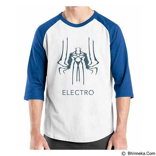 ORDINAL Raglan Amazing Spiderman Logo 06 Size ML (Merchant) - Kaos Pria