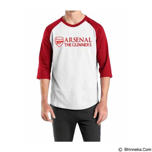 ORDINAL Raglan Arsenal 02 Size XL (Merchant) - Kaos Pria