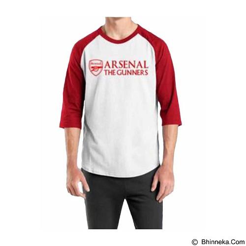 ORDINAL Raglan Arsenal 02 Size XXL (Merchant) - Kaos Pria