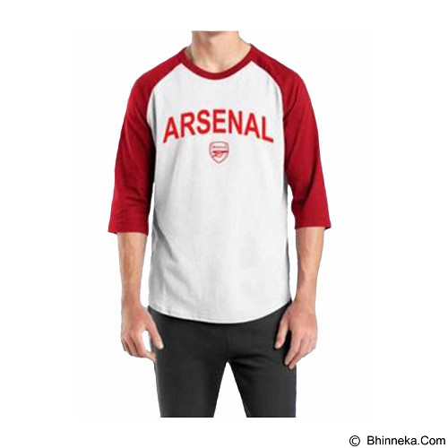 ORDINAL Raglan Arsenal 03 Size ML (Merchant) - Kaos Pria