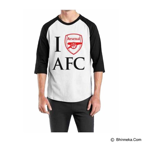 ORDINAL Raglan Arsenal 05 Size XL (Merchant) - Kaos Pria