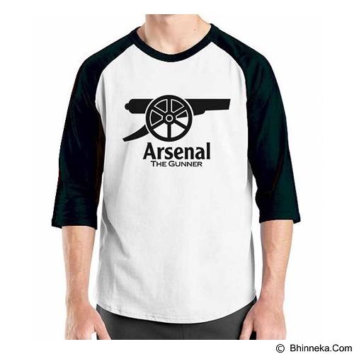 ORDINAL Raglan Arsenal Edition 05 Size XXL (Merchant) - Kaos Pria