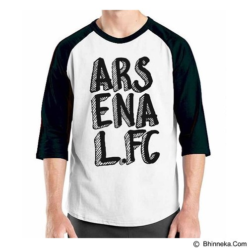 ORDINAL Raglan Arsenal Edition 11 Size XXL (Merchant) - Kaos Pria