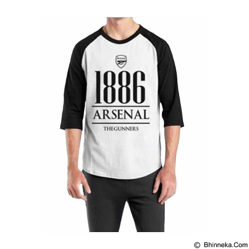 ORDINAL Raglan Arsenal Year Size ML (Merchant) - Kaos Pria