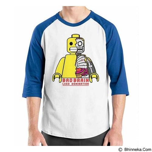 ORDINAL Raglan Bad Lego Size XXL (Merchant) - Kaos Pria