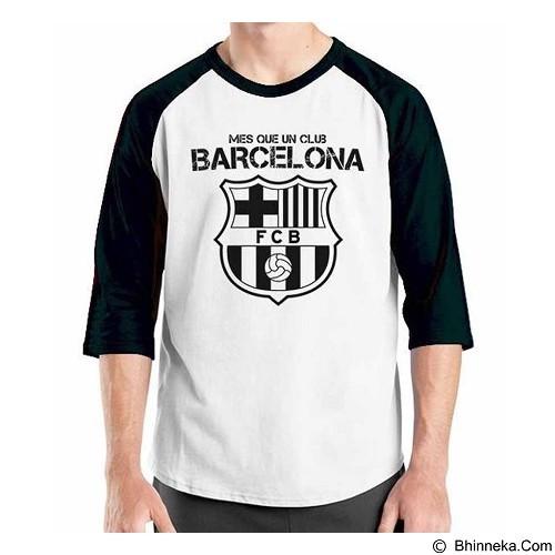 ORDINAL Raglan Barcelona Edition 02 Size L (Merchant) - Kaos Pria
