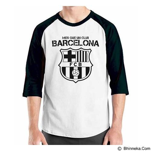 ORDINAL Raglan Barcelona Edition 02 Size S (Merchant) - Kaos Pria
