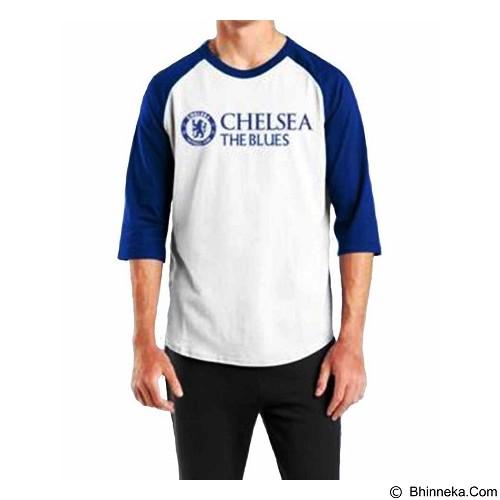 ORDINAL Raglan Chelsea 02 Size L (Merchant) - Kaos Pria