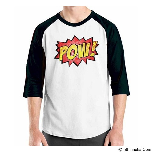 ORDINAL Raglan Comic Book 06 Size ML (Merchant) - Kaos Pria