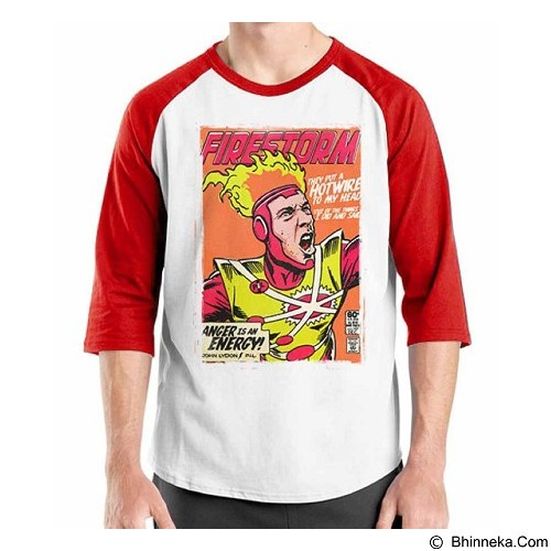 ORDINAL Raglan Comic Book 16 Size L (Merchant) - Kaos Pria